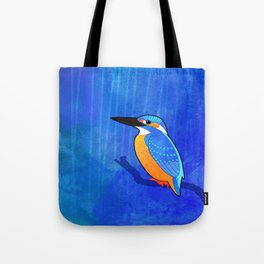 Common Kingfisher (Alcedo atthis) Tote Bag