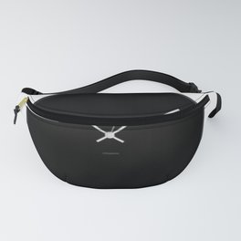 clock minimal b&w collection Fanny Pack