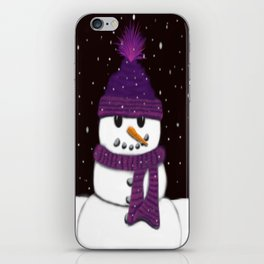 The Armless Snowman iPhone Skin
