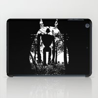 hayao miyazaki iPad Cases featuring Miyazaki Forest by kamonkey