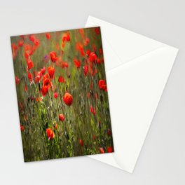 Poppy Peacefulness Art Stationery Cards