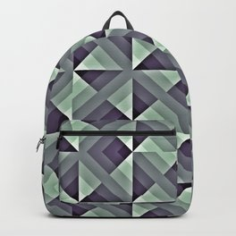 Strong Geometric Pattern Backpack