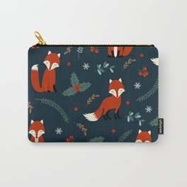 Beautiful Christmas Pattern Carry-All Pouch