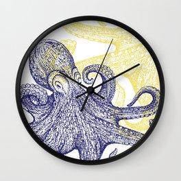 Blue Ringed Baby Wall Clock