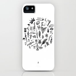 prison tatts iPhone Case