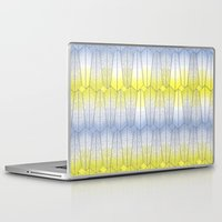 cityscape Laptop & iPad Skins featuring Cityscape by shana anderson