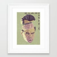 inception Framed Art Prints featuring INCEPTION by Mike Wrobel