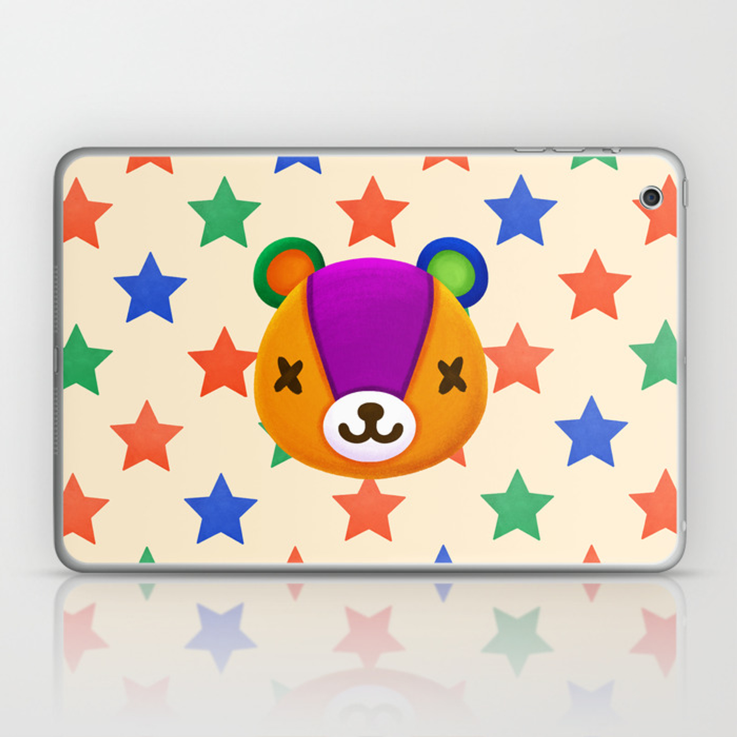 Stitches Animal Crossing Laptop Ipad Skin By Scribblemonkey