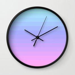 Pastel V.3 Gradient Wall Clock