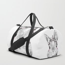 Bunny with Scarf Duffle Bag