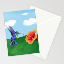 The very hungry hummingbird Stationery Cards