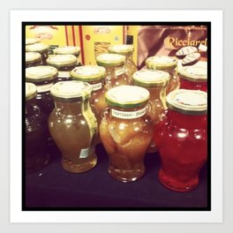 Canning Collection Art Print