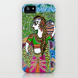 The Indian Fisher Woman iPhone Case