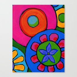 the love of peace ... Canvas Print