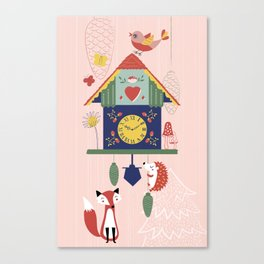 Cuckoo Wonderland Canvas Print
