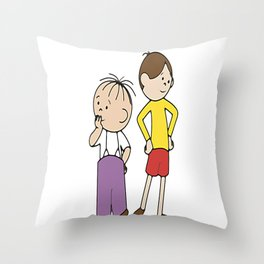 Bolek i Lolek   Throw Pillow