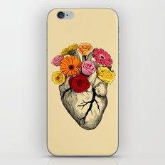Flower Heart iPhone & iPod Skin