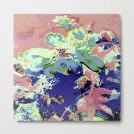 Pink Fleur Peony Metal Print