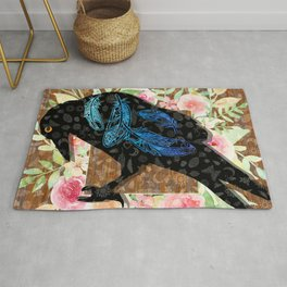 M is for Murder - Victim Rug