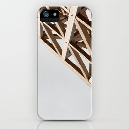 Struktur Holz iPhone Case