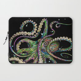 Octopsychedelia (black) Laptop Sleeve
