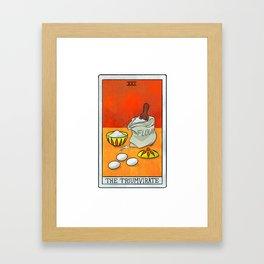 The Triumvirate | Baker's Tarot Framed Art Print