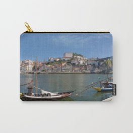 Porto wine barges and city Carry-All Pouch