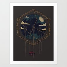 The Dark Woods Art Print