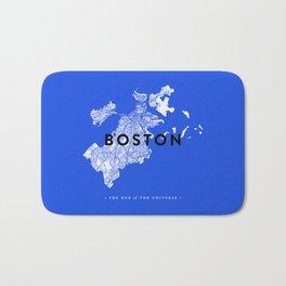 Boston Map Bath Mat
