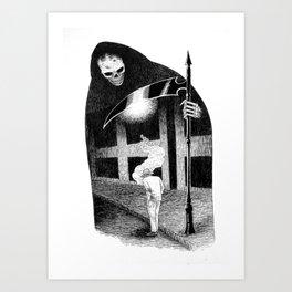 Dead of Night Art Print