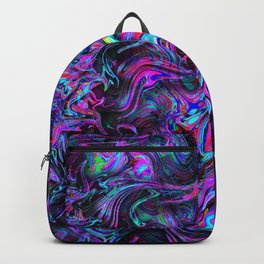 Eclipse of a Purple Sun Backpack
