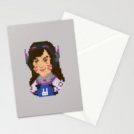 Dva Pixel Portrait Stationery Cards