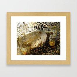 Rutilated Honey Framed Art Print