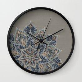 Essence - earth/multi Wall Clock