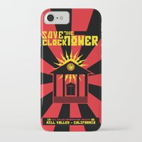 propaganda iPhone & iPod Cases featuring Clocktower Propaganda by DGN Graphix