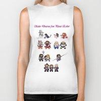 nori Biker Tanks featuring Sailor Dwarves of Erebor by Rshido