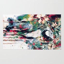 Interpretation of a dream - Parrot II Rug