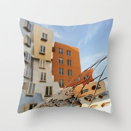 The Ray and Maria Stata Center Throw Pillow