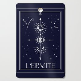 The Hermite or L'Ermite Tarot Cutting Board