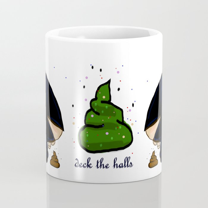 Deck the Halls- Dali cagoner Coffee Mug