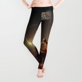 We Used To Live There, Too Leggings