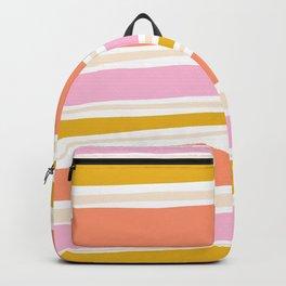 del mar, 70's stripes Backpack