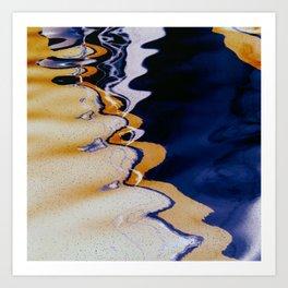 Fluid3 Art Print