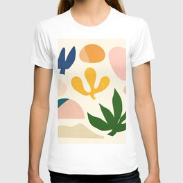 Abstraction_Floral_001 T-shirt