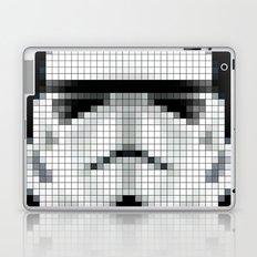 Stormtrooper : 8 Bit Pixel Laptop & iPad Skin
