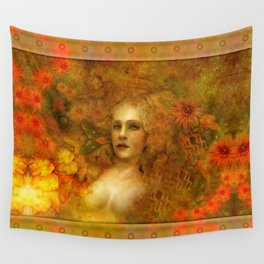 """""""Ofelita de Oro"""" (From """"Death, Life, Hope"""") Wall Tapestry"""
