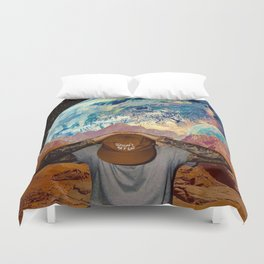 Don't Trip Duvet Cover