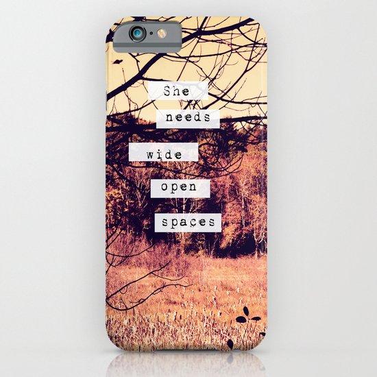 Wide Open Spaces II iPhone & iPod Case