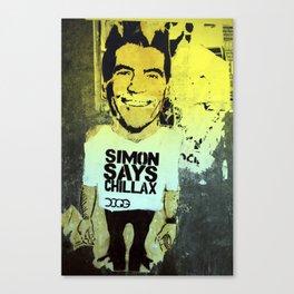 Simon says... Canvas Print