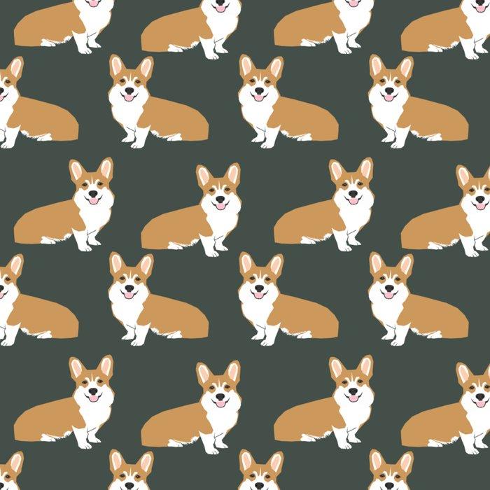 Corgi pattern cute gift for dog owner welsh corgi must haves dog breeds pet portraits pet friendly  Leggings